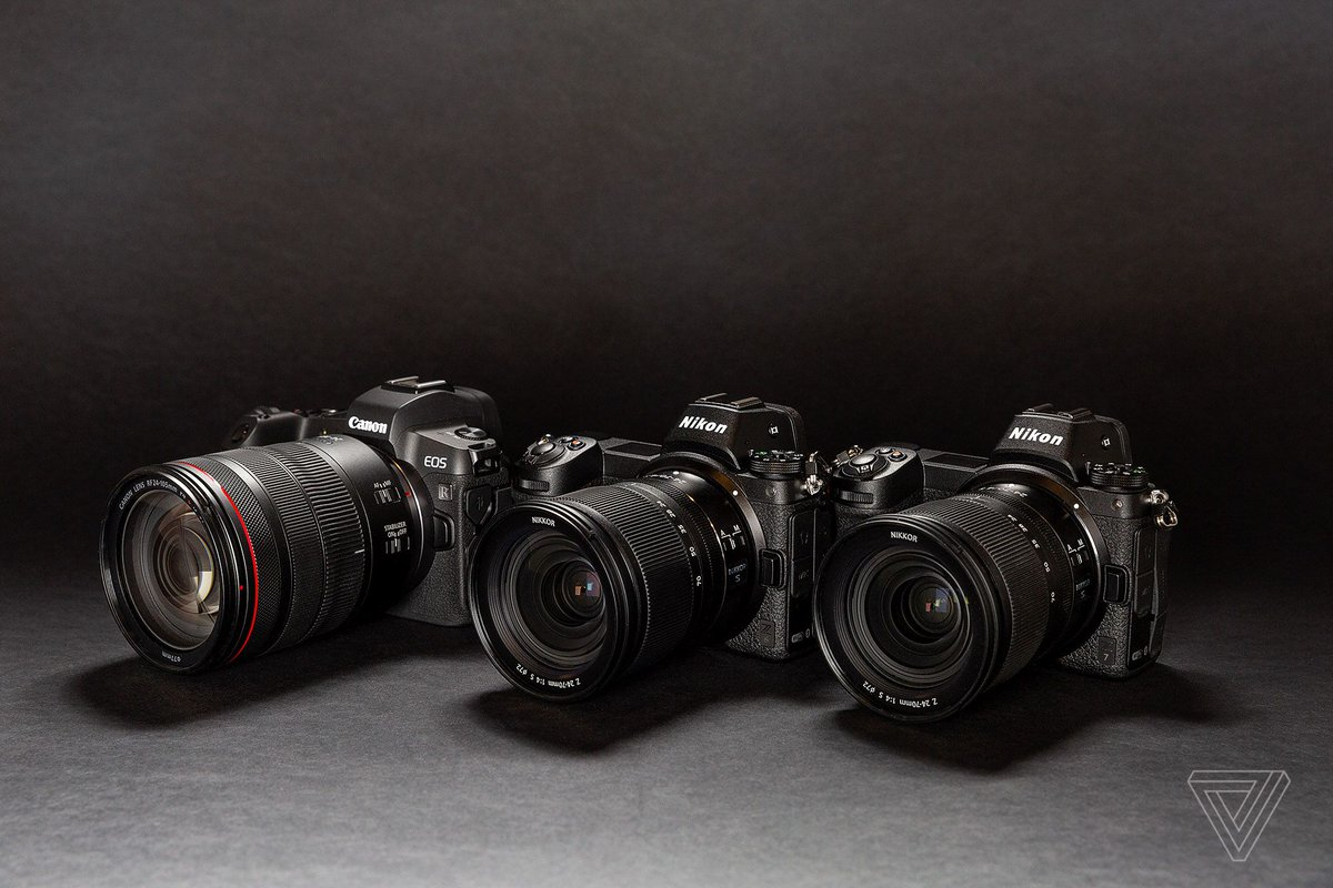 Canon and Nikon are off to a strong start with their first full-frame mirrorless cameras