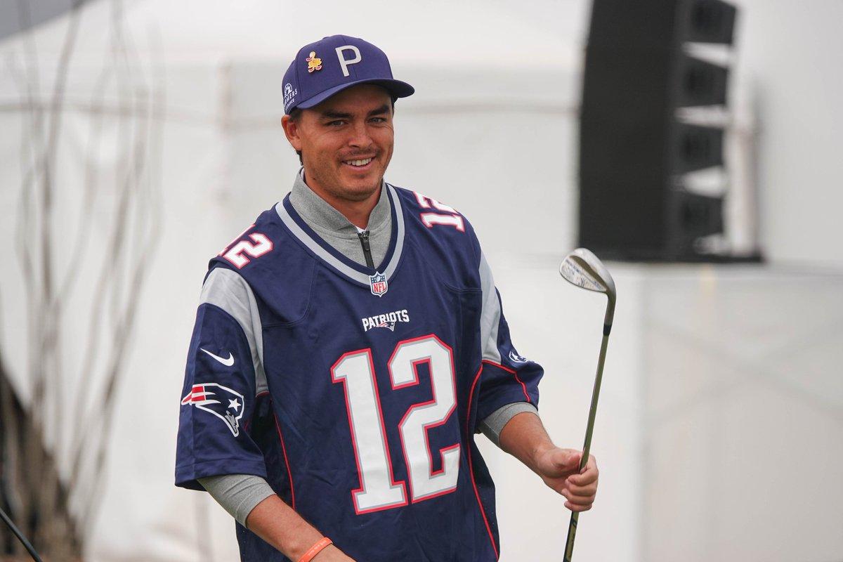 .@RickieFowler's got the @Patriots. 👀