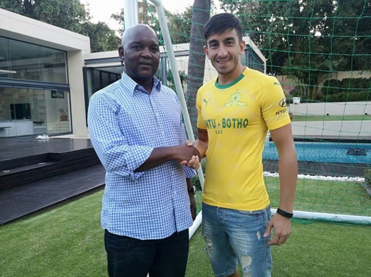 Welcome to the 8x Absa Premiership, 2016  CAF CL & Caf Super Cup Champions, Emiliano Tade 👇