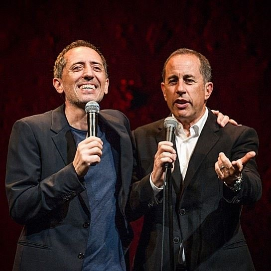 I met @gadelmaleh 12 years ago, and I instantly recognized him as a true comedian. Go see him, he's brilliant. https://t.co/6kBSFMgrSo