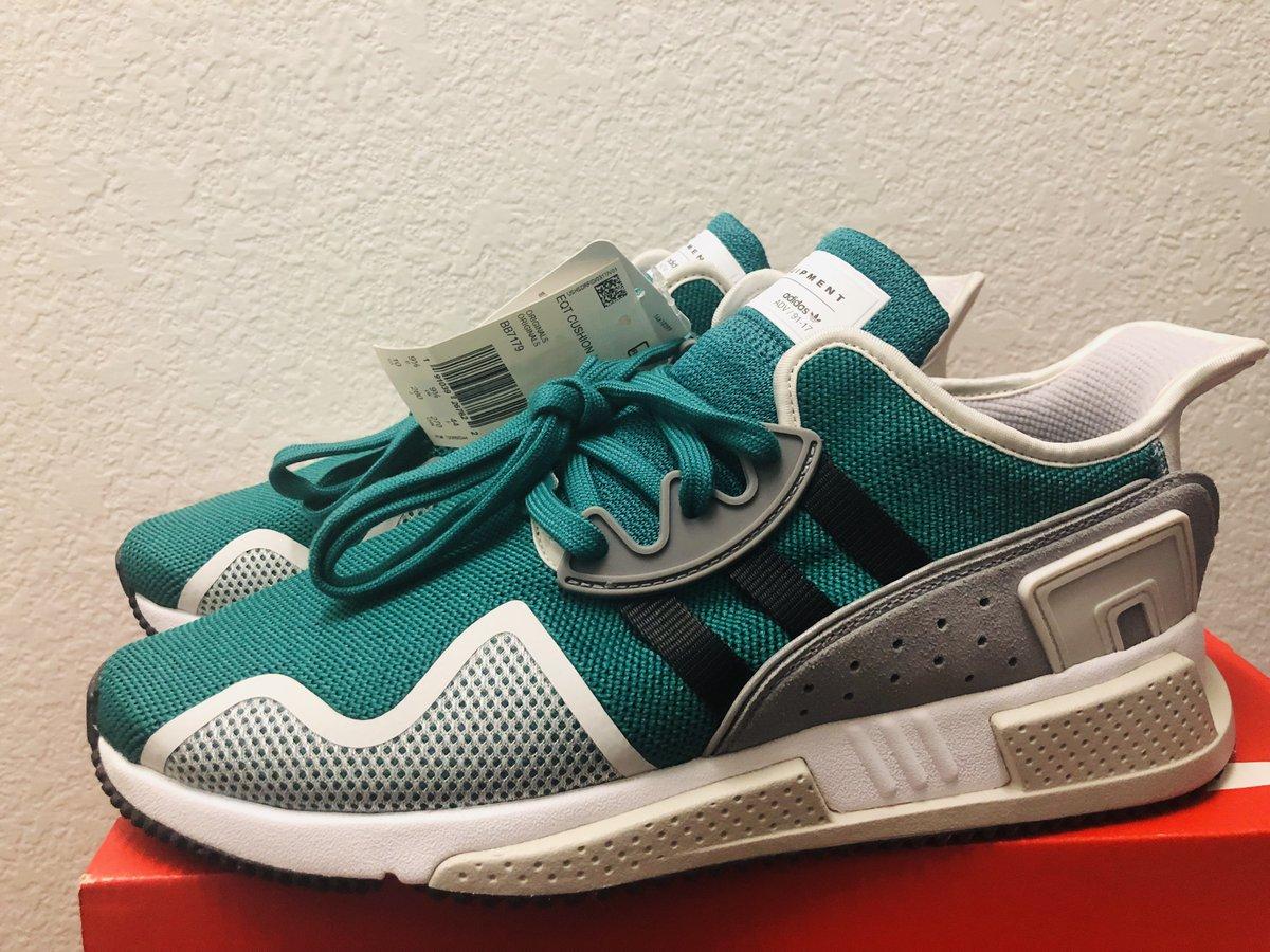 buy popular 47e45 15f47 Adidas EQT Cushion ADV Men Sneakers size 10 Green Black Lifestyle Shoes  BB7179  eBay link