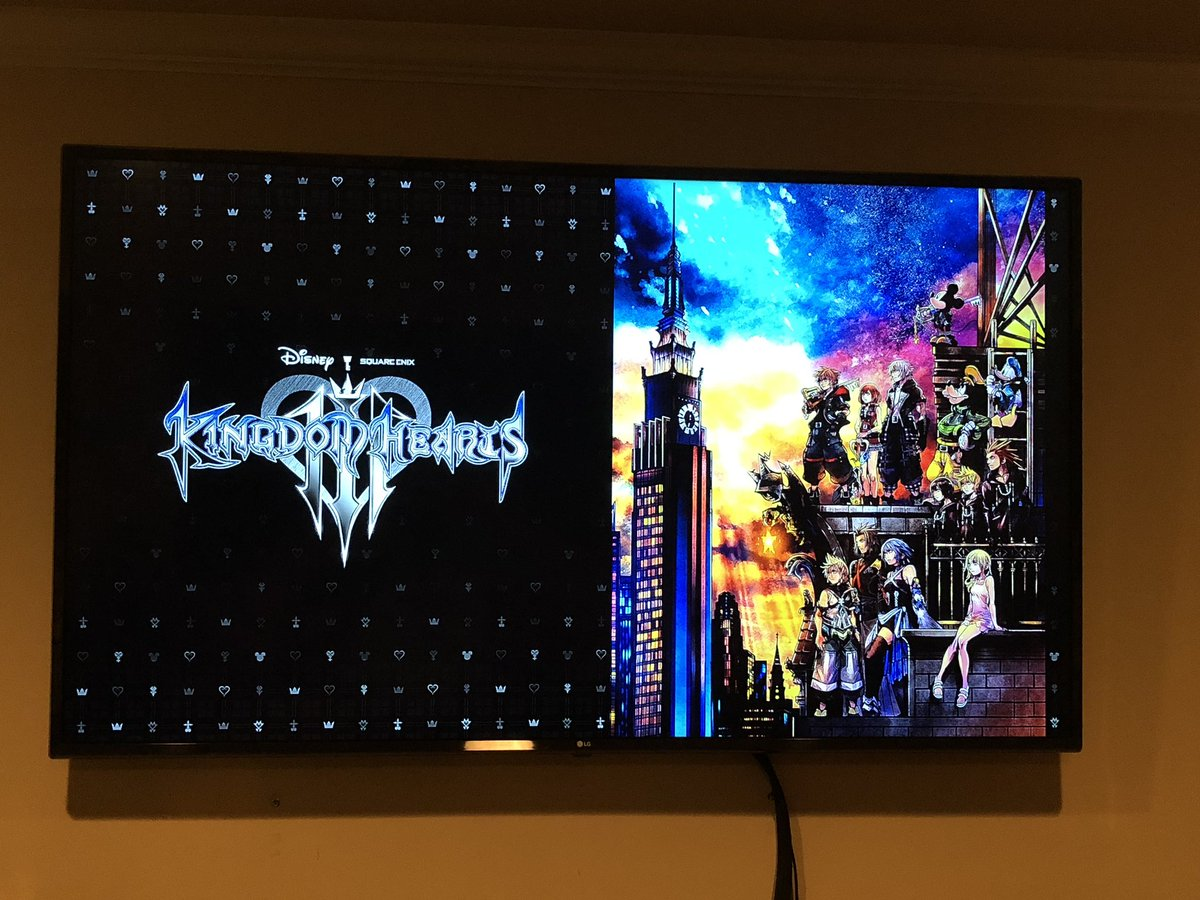 THIS IS NOT A DRILL #KH3 ITS HAPPENING ❤️😭😭😭
