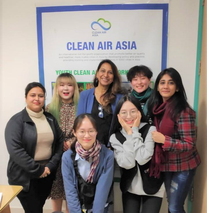 test Twitter Media - Children are our future: Our India Director Prarthana Borah spent time with students from South Korea's Chonbuk National University discussing #airpollution issues in India and the work of Clean Air Asia! @prarthana_delhi #AirQuality #BreatheLife #SolutionsNotPollution https://t.co/IMtZW07Tz4