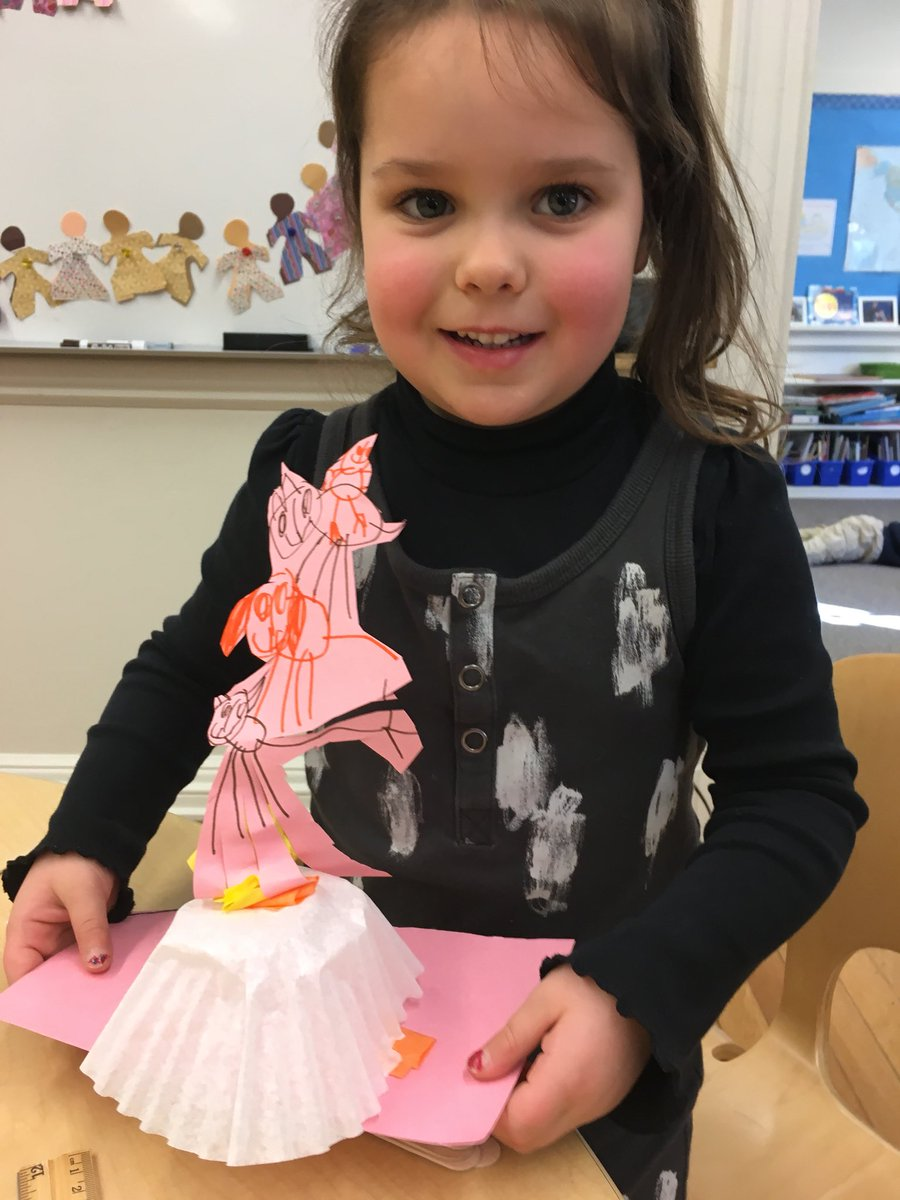 We had some bonus collaborators today when Pre-K Extended Day joined us for STEAM lab. We retold the story of the Bremen Town Musicians and designed our own versions of the statue. #WeWereTheBigKids #LearningFriendshipAndFun  #BetterTogether @brimmerandmay
