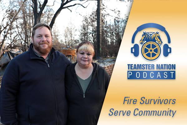 In latest #podcast, learn how Northern California #Teamsters survived the deadly Camp Fire and then lent a hand to help their communities. Plus, how a @FMCSA sided with #trucking industry by rolling back California meal and rest breaks: http://teamster.org/node/106823  #1u