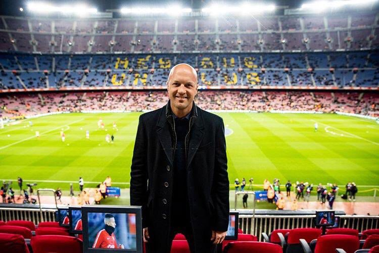 Always great to be back!  🔵🏟🔴 ¡Siempre es un placer volver al Camp Nou! – at Camp Nou