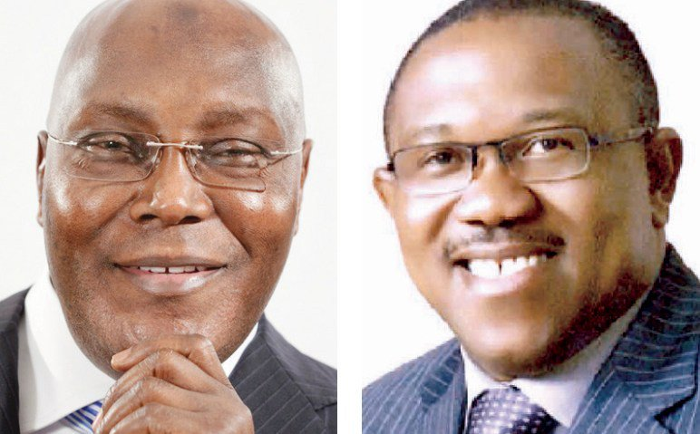 DyMNyWlVsAA1i q - #TheCandidate#: 'Atiku And Obi Are Presidential Materials. Tonight They Won Me Over. I'm ATIculated And OBIdien' – Nigerians Say As Atiku And Peter Obi Goes Live On Tv