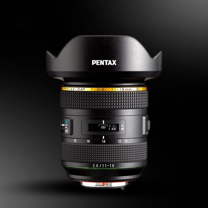 El esperado Pentax HD 11-18mm f2.8 DA* llegará el 22 de febrero con un precio de 1.399€. Un zoom ultra gran angular que proporciona una enorme calidad de imagen sin pérdida de nitidez en los bordes