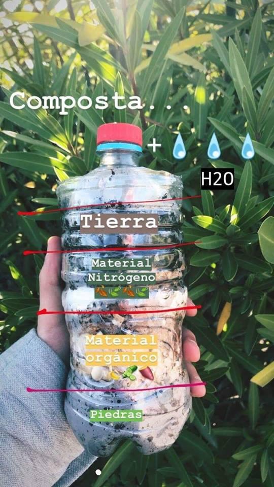 Quién lo diría, hacer una composta fue demasiado  sencillo. Les comparto el procedimiento.   @Betodiazcid #Ecoturismo #HoyAprendí