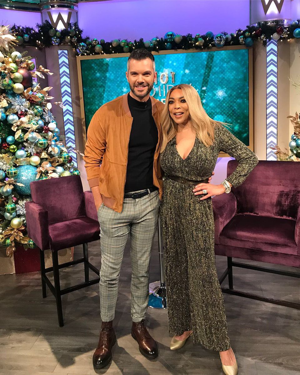 Who wants to watch me co-host an entire hour of @WendyWilliams tomorrow on FOX?!? 🤷🏻‍♂️  I'm super excited, so set your DVR & let's have some fun!  #HowYouDoin