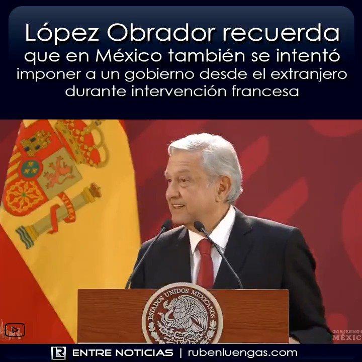 Mientras nosotros debatimos por pequeñeces, López Obrador le ha dado hoy una clase de historia y geopolítica a Pedro Sánchez.  No dejen de verla, y que viva México libre y soberano.