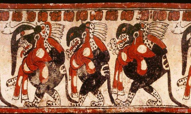 Image result for jaguar kings in mayan