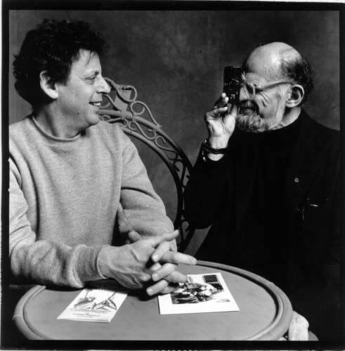 Happy Birthday Philip Glass born January 31, 1937 in Baltimore, Maryland and Allen Ginsberg