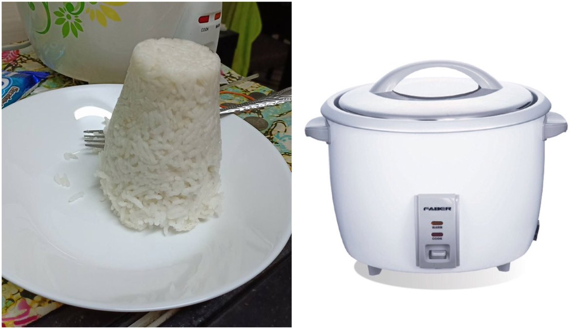 """Cara Mudah Masak Nasi Kalau Cuma Kita Seorang Nak Makan. Tak Membazir, Tak Berkerak  """"Alahai... malasnya nak masak nasi bila duk sorang-sorang ni. Takkan nak masak setengah pot je. Nanti nak basuh periuk pun leceh, berkerak-kerak""""  Jom sis bagi tips mudah masak nasi."""