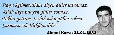 #AhmetKerse