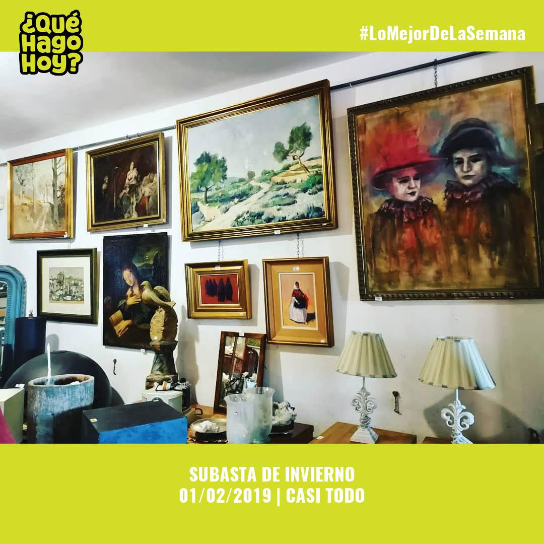 📌 01/02/2019 | 16h30 | Casi Todo te invita a la subasta de muebles, arte, joyas y curiosidades de todo tipo - casi todo... Entrada libre.