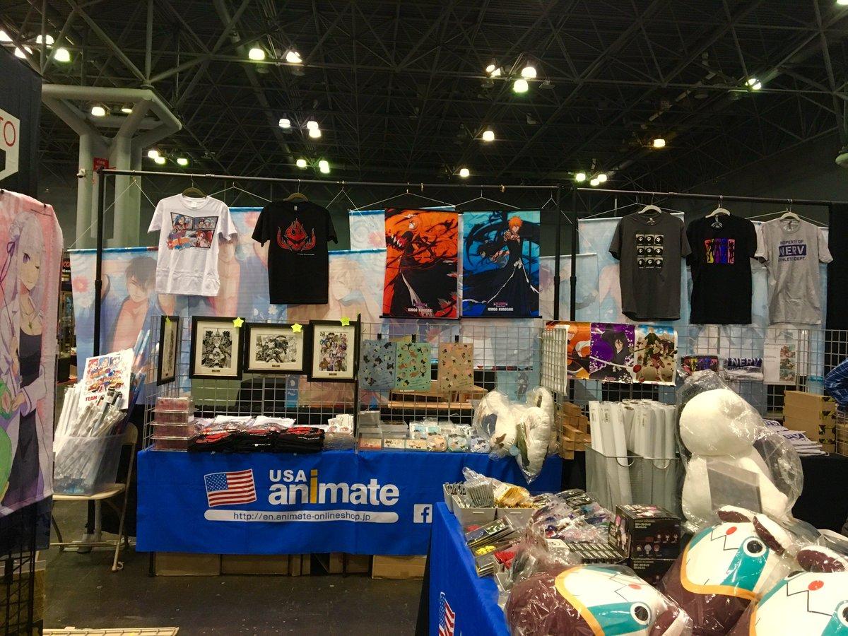 Anime Expo Stands : Usa animate @animateusa twitter