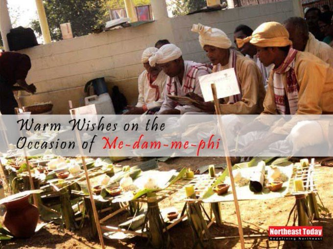 #MeDamMePhi is one of the important festivals observed by #Ahom Community to show respect to the departed ancestors.