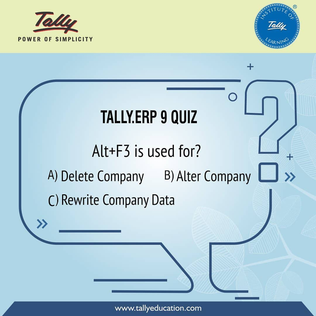 Quiz time! Do you know the answer to this question?  #accounting #erp #softwaredubai #quizpic.twitter.com/EO44gTj2Xq