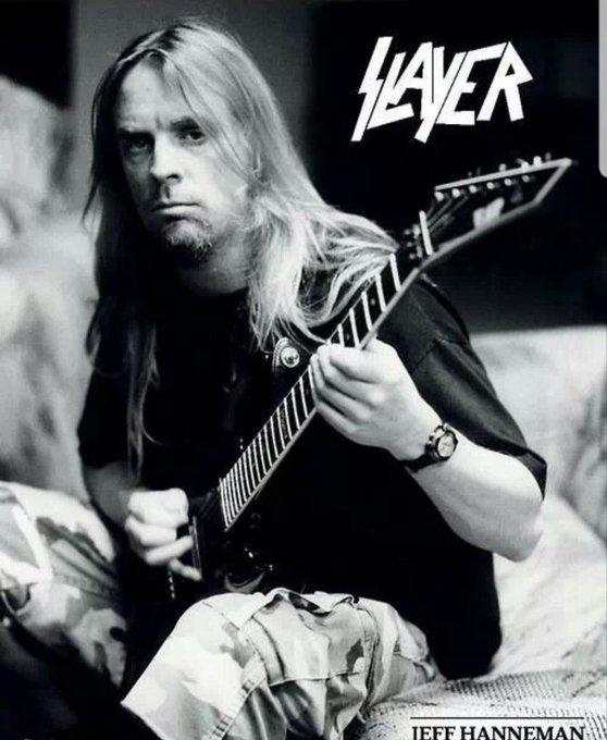"""Happy Birthday !!!!   Jeffrey John \""""Jeff\"""" Hanneman (Oakland, January 31, 1964-Inland Empire, May 2, 2013)"""