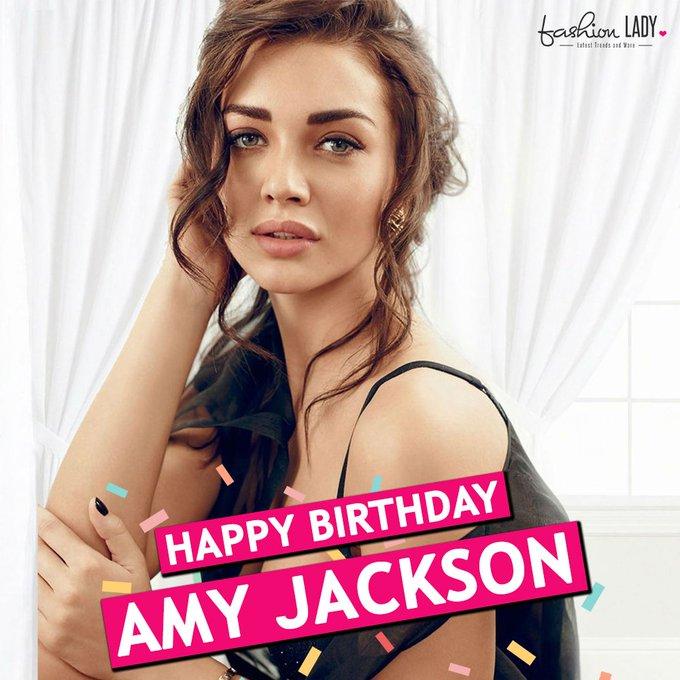 We Wish Gorgeous Amy Jackson A Very Happy Birthday!