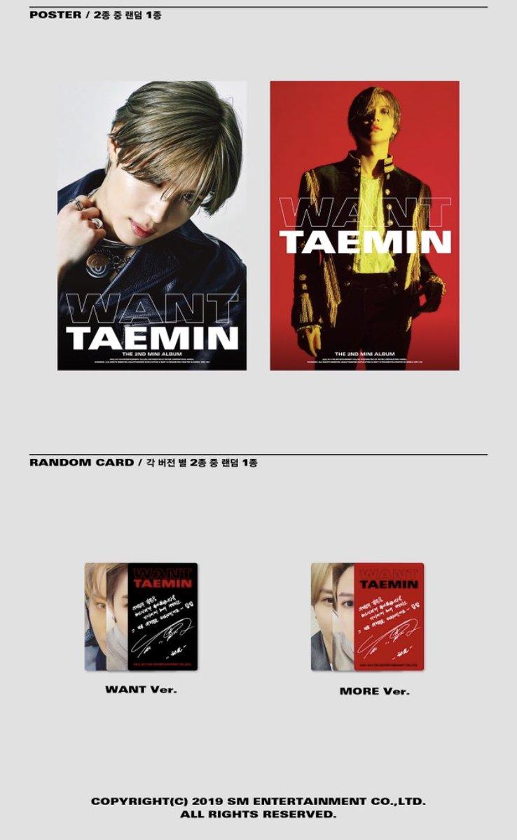OFFICIAL] ✣ TAEMIN ✣ // ⌜ WANT⌟ \\ 2nd Mini Album