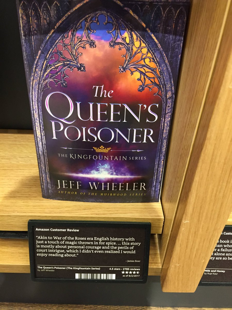 Review Perils Of Reading History >> Jeff Wheeler On Twitter Queen S Poisoner On Sale Today