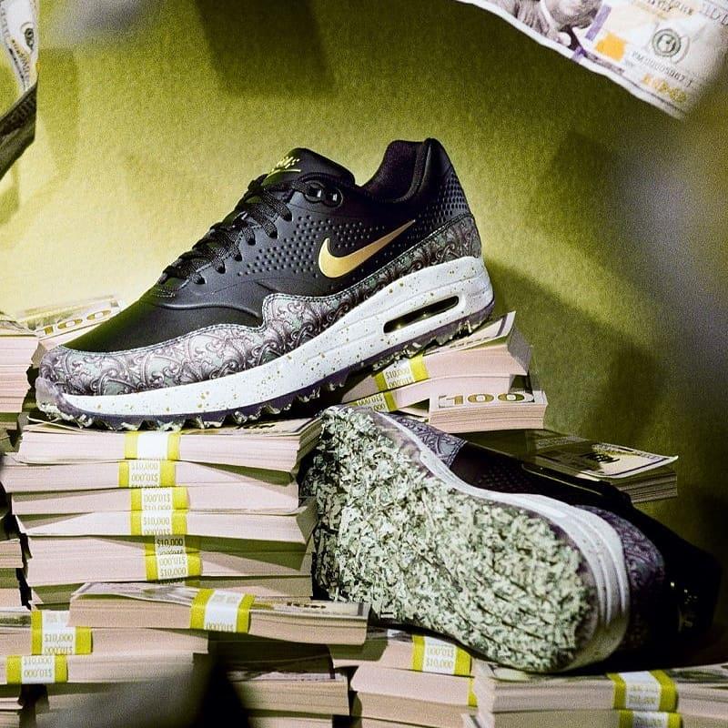 pretty nice 95832 b573e LIVE via Nike US Nike Air Max 1 Golf NRG Grass http   bit.ly 2G07L6G  Money http   bit.ly 2G1by3C pic.twitter.com 65pC8UORsj