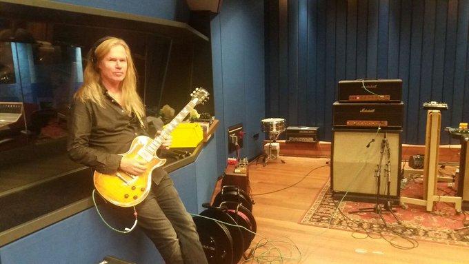 Happy birthday to Adrian Vandenberg of Whitesnake, Vandenberg & Vandenberg\s MoonKings.