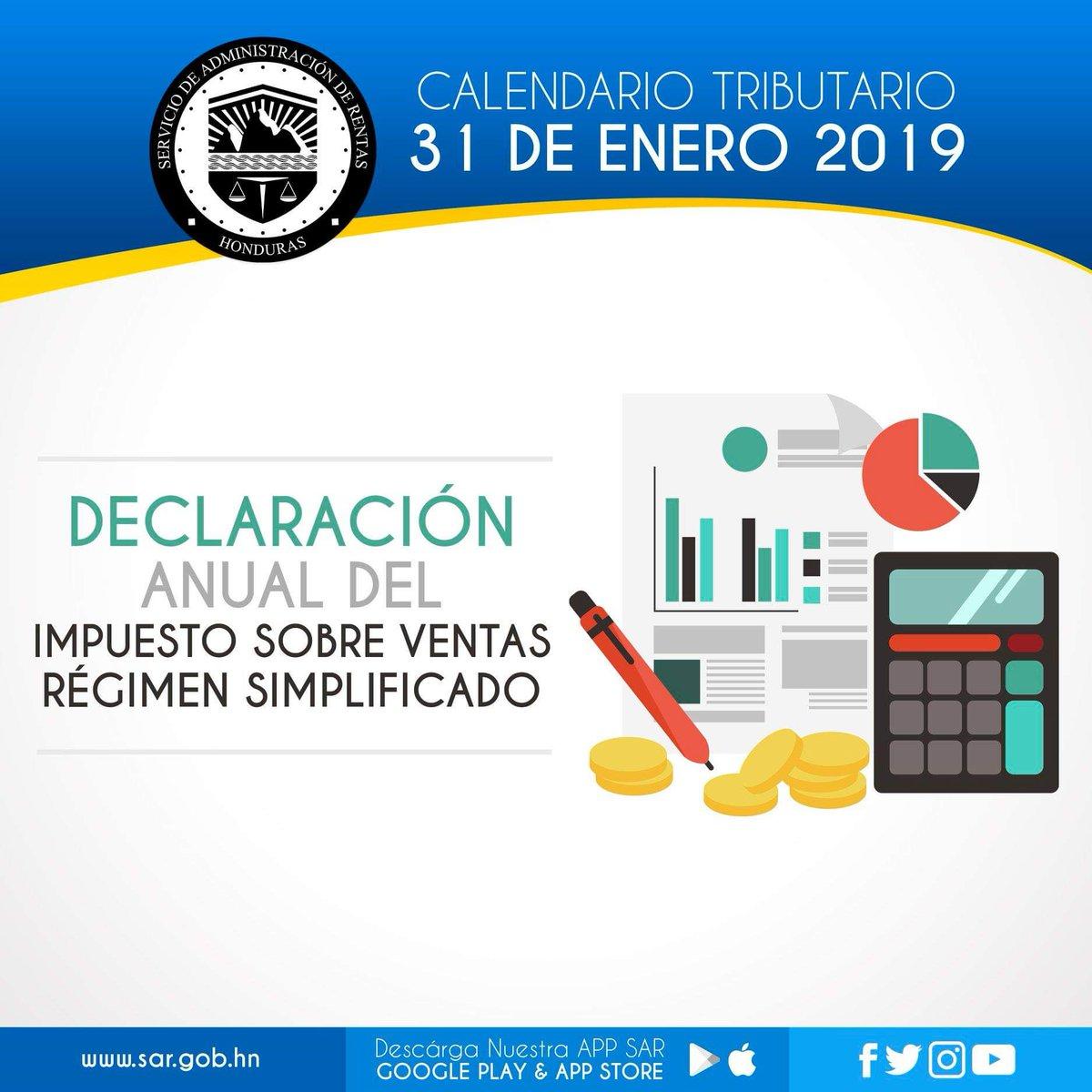 Calendario Fiscal 2019 Honduras.O Xrhsths Sar Sto Twitter Realiza Tus Gestiones En