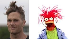 """😤""""Bih Stole My Look!"""" Who wore it better, Tom Booty from the Patriots or Pepe The King Prawn???🦐 🦐  #muppetmemes #pepethekingprawn #whoworeitbetter #bitchstolemylook #bitchstolemyhair"""