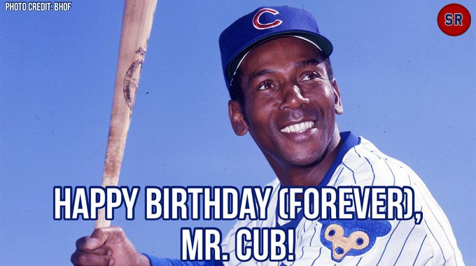 Happy Birthday (Forever) to Mr. Cub, Ernie Banks!