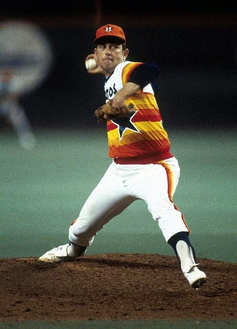Finally, Happy 72nd Birthday to former starting pitcher/Hall of Famer, Nolan Ryan!