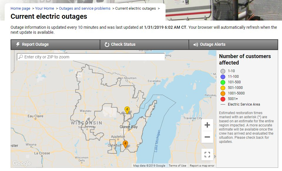 Power Outage Reported Latest News Breaking Headlines And Top