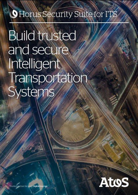 🗣️Atos lanza Horus para Sistemas Inteligentes de Transporte (ITS), una solución que propor...