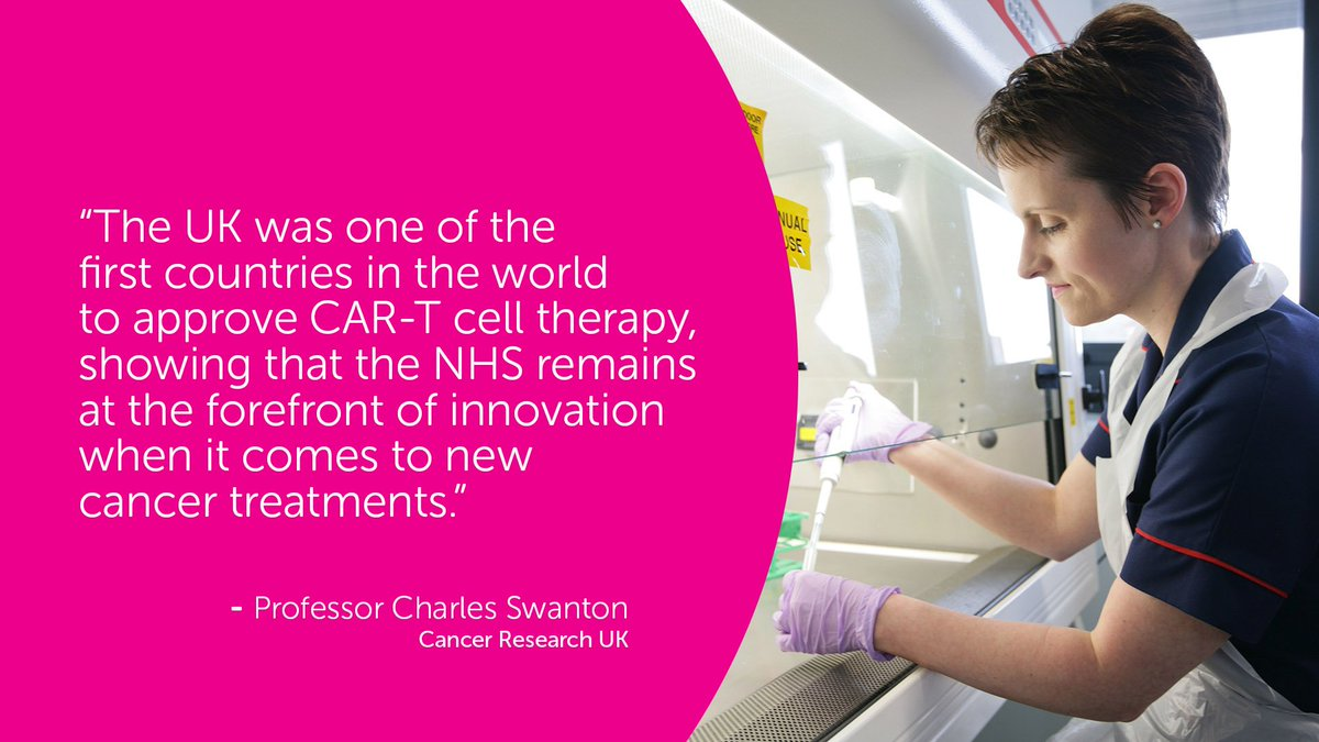 Cancer Research Uk On Twitter News Report First Patient Receives