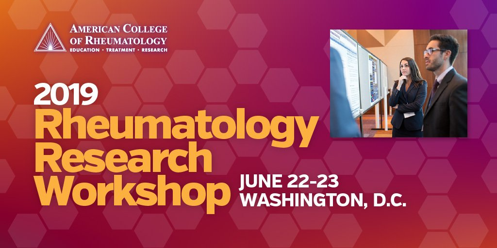 American College of Rheumatology on Twitter:
