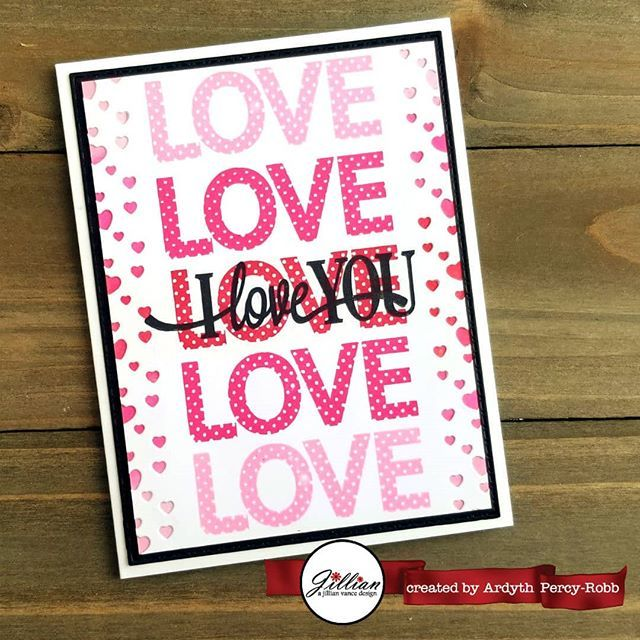 I'm on the #ajillianvancedesign blog today with this pretty #valentine #cardmaking #handmadecards #maskeradecards http://bit.ly/2sXtbIV