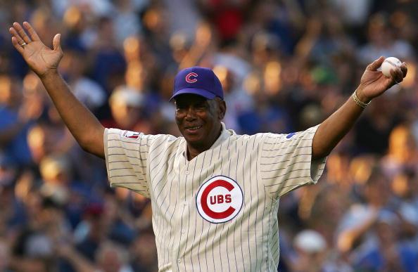In 1931 Mr. Cub was born.  Happy 88th birthday, Ernie Banks.