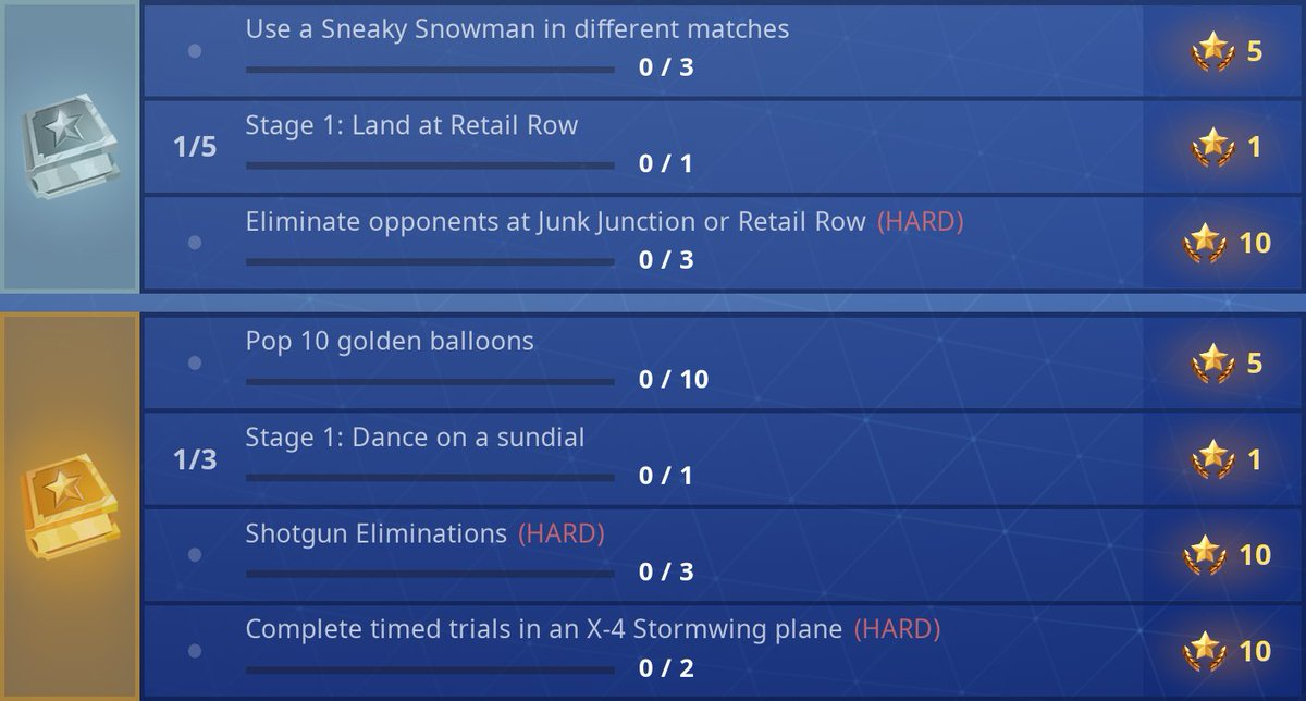 fortnite season 7 week 9 challenges available now pic twitter com ydvvzxramp - where are the time trials fortnite season 7