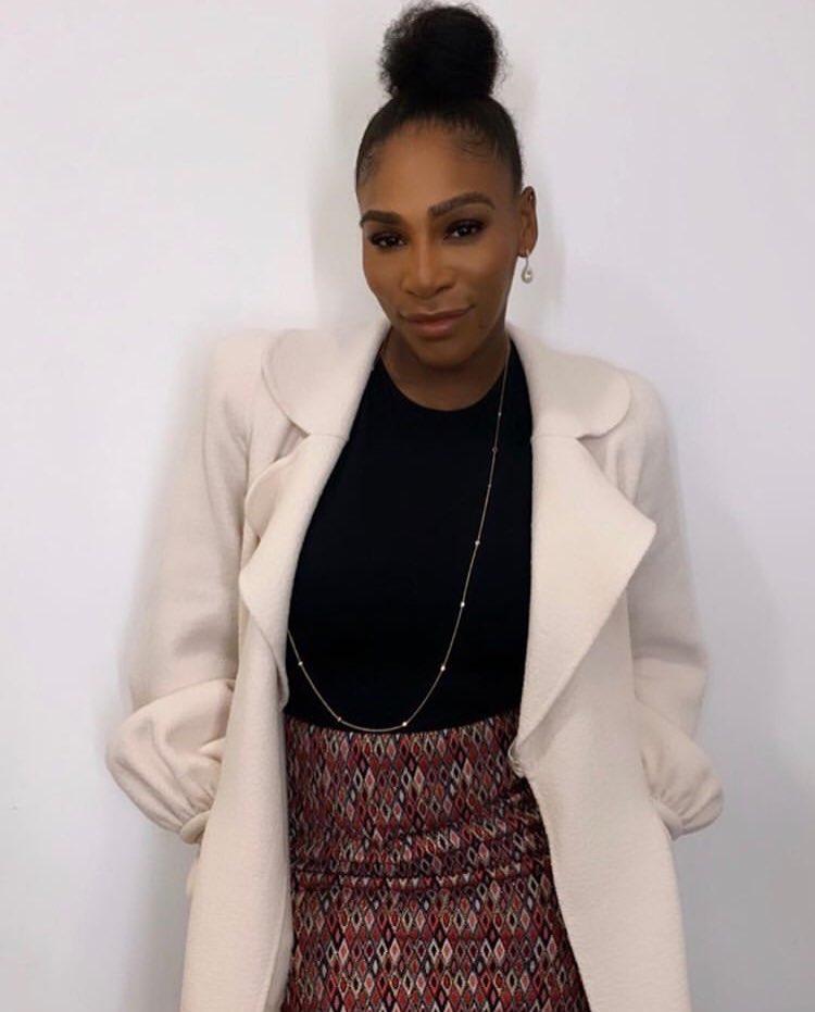 Serena Williams @serenawilliams