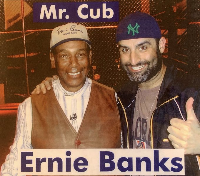 Happy 88th Birthday to the late great Ernie Banks!