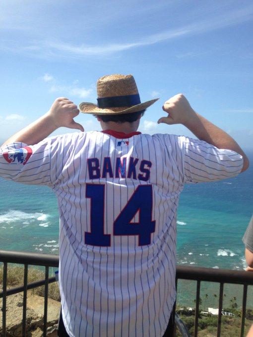 Happy birthday to Mr. Cub, Ernie Banks, my favorite player of all time