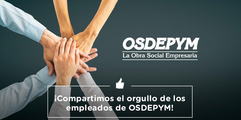 Celebramos y compartimos el orgullo de los 563 empleados de OSDEPYM por el fuerte, comprometido y ético trabajo que se está realizando para la recuperación de la Obra Social de las Pymes y sus familias https://bit.ly/2SiWnZ8
