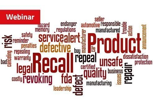 Request this #webinar and see how you can avoid four #medicaldevices #recalls scenarios:  Wrong Label/IFU, Wrong Product #Labels with #Printing Errors  Market Specific Label Content Errors  #MasterData Errors https://tinyurl.com/ycpnagrg