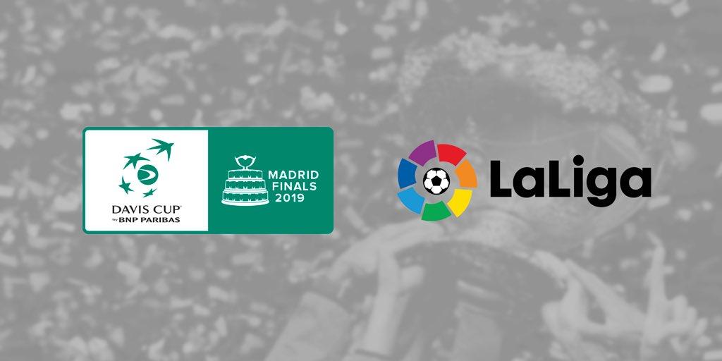 🔈@LaLiga signs as official @DavisCupFinals sponsor   More info ➡️ http://daviscupfinals.com