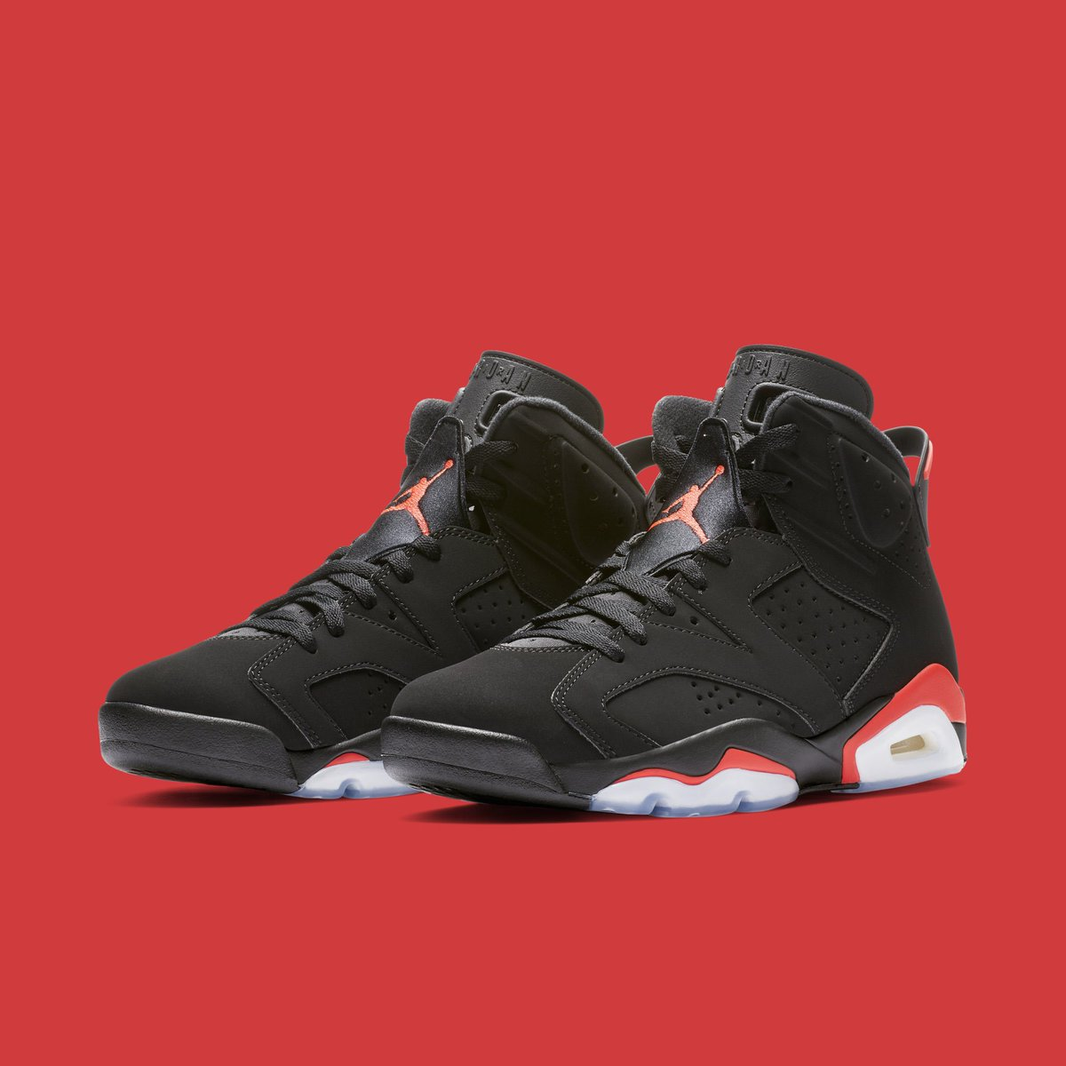 "6924f42f56bb2d ""Infrared"" Air Jordan 6s return with Nike Air branding on Saturday"