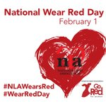 Image for the Tweet beginning: Join us on National #WearRedDay,