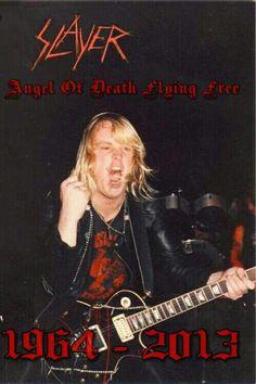 Happy Birthday Jeff Hanneman Rest in Peace