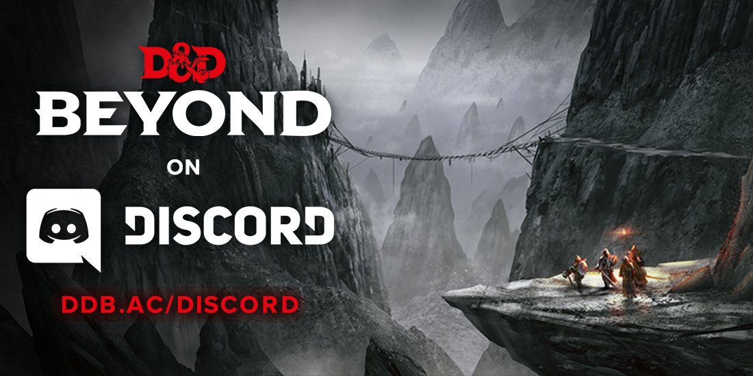 The D&D Beyond Discord is live! - News & Announcements - D&D Beyond